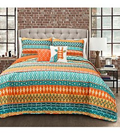 Lush Decor Valerie Stripe 5-Piece Quilt Set