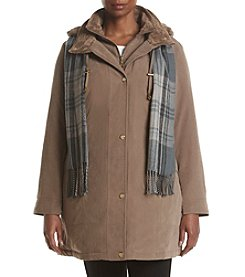 Breckenridge® Plus Size Double Collar Parka