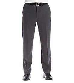 3cec202b73 Savane® Flat Front Classic Fit Active Flex Diamond Dress Pants