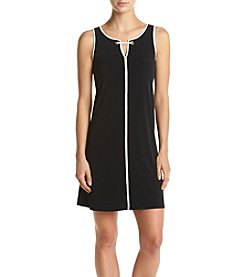 Ivanka Trump® Solid Grommet Dress