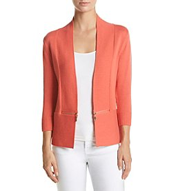 Ivanka Trump® Zipper Cardigan
