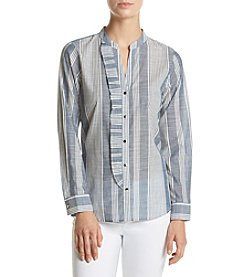 Ivanka Trump® Striped Blouse