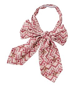 Collection 18 Nouveau Floral Bow Tie Scarf