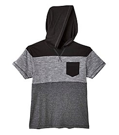 Distortion® Boys' 8-20 Short Sleeve Pullover Hoodie
