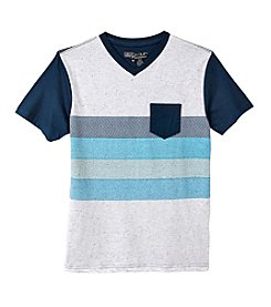 Distortion® Boys' 8-20 Short Sleeve V-Neck Tee