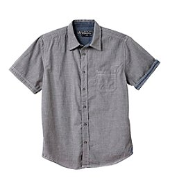 Distortion® Boys' 8-20 Short Sleeve Textured Top