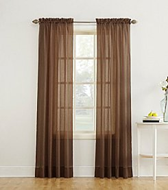 No 918 Erica Crushed Sheer Voile Ascot Curtain