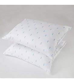 Home IZOD Logo Printed Garnetted Pillow Twin Pack