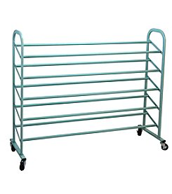 Oceanstar 5-Tier Metal Shoe Rack
