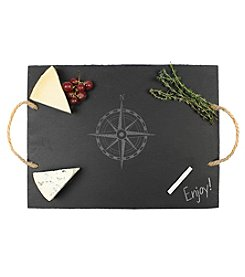 Cathy's Concepts Compass Slate Serving Board
