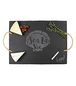 Cathy's Concepts Sea La Vie Slate Serving Board