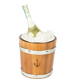 Cathy's Concepts Rustic Wooden Anchor Ice Bucket