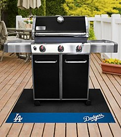 FANMATS MLB® Los Angeles Dodgers Grill Mat