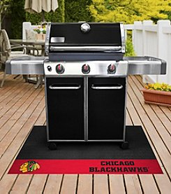 FANMATS NHL® Chicago Blackhawks Grill Mat