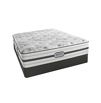 palo alta plush queen mattress u0026 box spring or adjustable base set