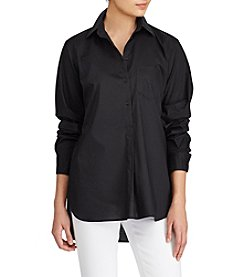 Lauren Ralph Lauren® Cotton Broadcloth Tunic