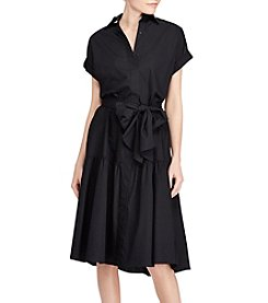 Lauren Ralph Lauren® Cotton Midi Shirtdress