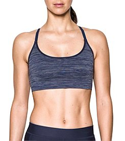 Under Armour® Threadborne™ Seamless Low Heathered Sports Bra
