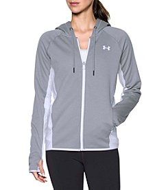 Under Armour Full Zip Crosshatch Storm Fleece Jacket