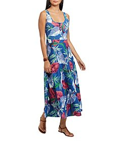 Chaps® Floral Jersey Maxidress