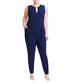 Lauren Ralph Lauren® Plus Size Stretch Jersey Jumpsuit