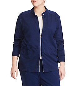 Lauren Ralph Lauren® Plus Size Full-Zip Jacket