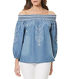 Bandolino® Marlena Off The Shoulder Peasant Top
