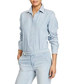 Lauren Ralph Lauren® Button-Up Top