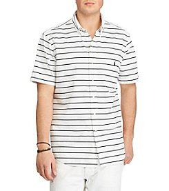 Polo Ralph Lauren® Men's Short Sleeve Striped Button Down Shirt
