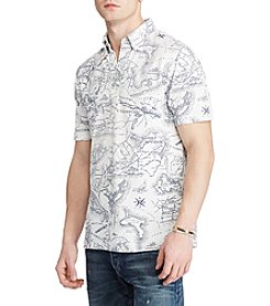 Polo Ralph Lauren® Men's Short Sleeve Printed Polo Shirt
