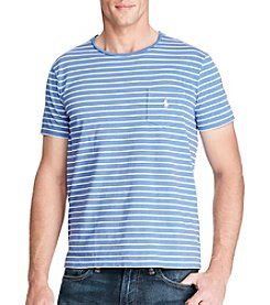 Polo Ralph Lauren® Men's Short Sleeve Striped Crew Neck Tee