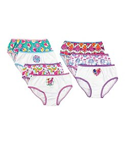 Princess Girls' Trolls 7-Pack Briefs Underwear