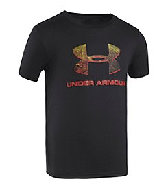 Under Armour® Boys' 4-7 Short Sleeve Camo Logo Tee