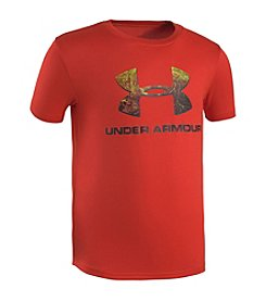 Under Armour® Boys' 4-7 Short Sleeve Hunt Big Logo Tee