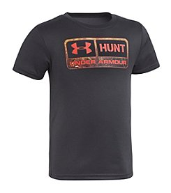 Under Armour® Boys' 4-7 Short Sleeve Hunt Tee