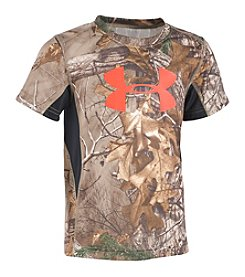 Under Armour® Boys' 4-7 Short Sleeve Realtree Camo Logo Tee