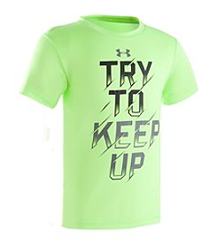 Under Armour® Boys' 2T-7 Short Sleeve Try To Keep Up Tee