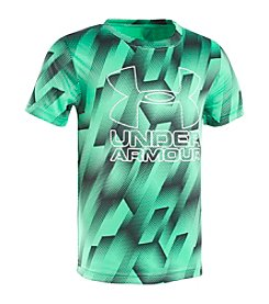 Under Armour® Boys' 4-7 Short Sleeve Sandstorm Big Logo Tee