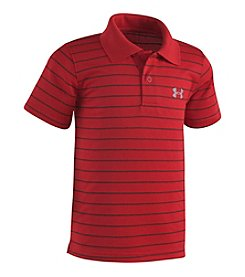 Under Armour® Boys' 4-7 Game Striped Yarn Dye Polo