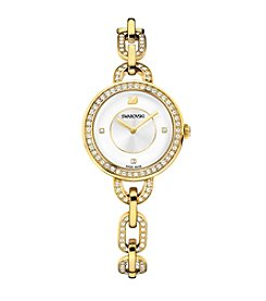 Swarovski® Aila 31mm Goldtone Bracelet Watch