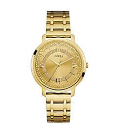 GUESS Women's 40mm Goldtone Stainless Steel Bracelet Watch