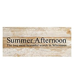 Second Nature by Hand Summer Afternoon Wall Decor