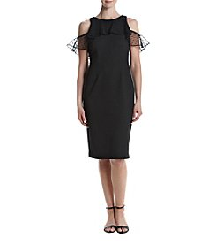 Gabby Skye® Black Sheath Dress