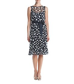 Jessica Howard® Dot Printed Dress