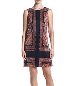 Jessica Howard® Textured Printed Dress