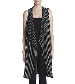 Bobeau® Striped Vest