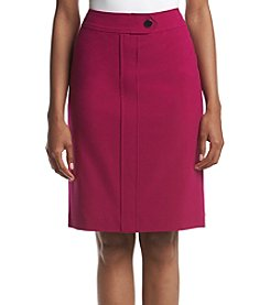 Nine West® Extended Tab Slim Skirt