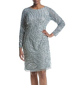 Adrianna Papell® Plus Size Beaded Dress