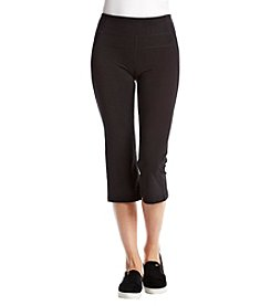 Calvin Klein Performance High-Waist Backleg Split Capri