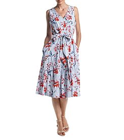 Ivanka Trump® Floral Print Shift Dress